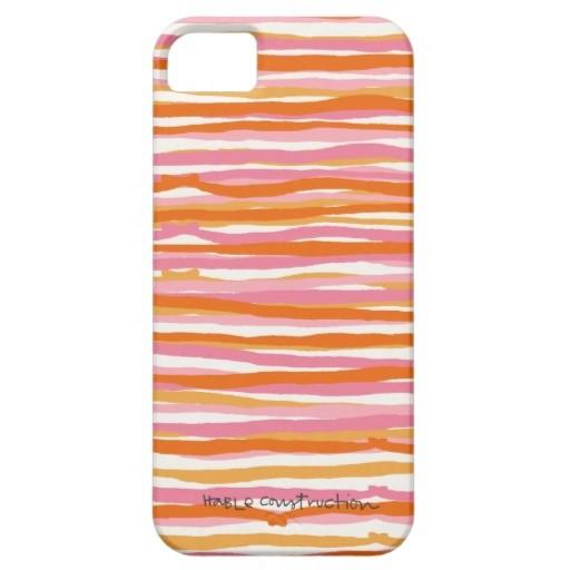 Hable Construction - Stripes iPhone 5 Case, $42