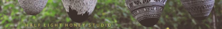 Half Light Honey Studio Logo