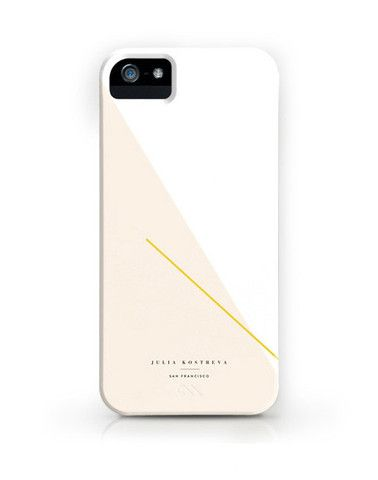 Julia Kostreva Colorblock Sky iPhone 5 case, $38