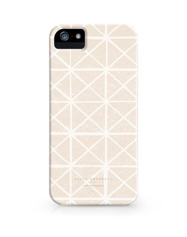Julia Kostreva Triangles in Nude iPhone 5 case, $38