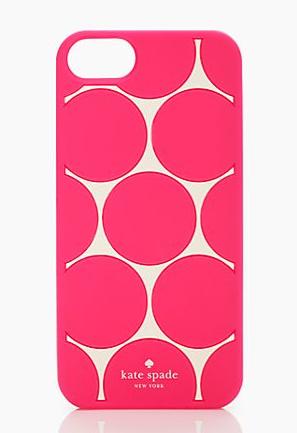 Kate Spade - Deborah Dot iPhone Case, $40