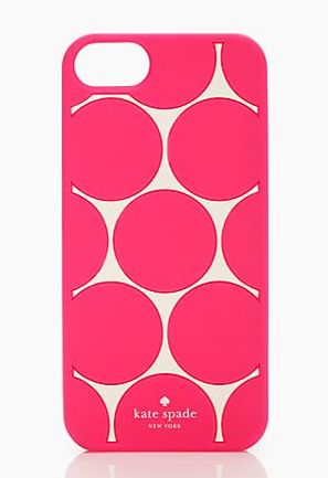 Kate Spade - Deborah Dot iPhone Case, $40