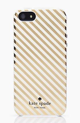 Kate Spade - Harrison Stripe iPhone 5 Case, $40