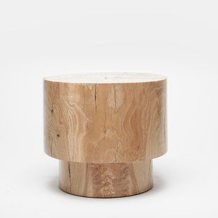 Wood Stool by Alma Allen for Totokaela