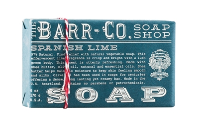 Barr-Co Spanish Lime Soap, $8