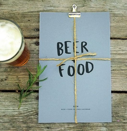 Red Cruiser - Beer + Food Calendar, $26