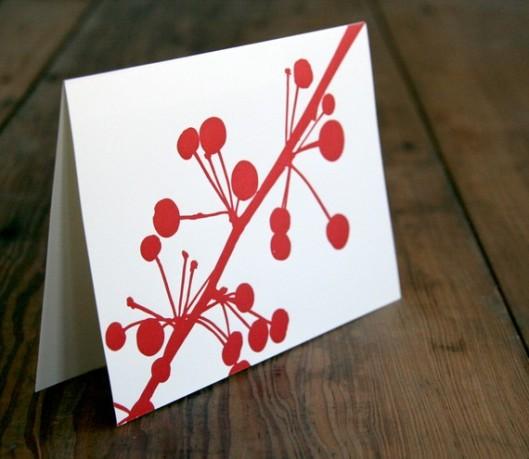 Red Bird Ink - Berries set of 6, $18