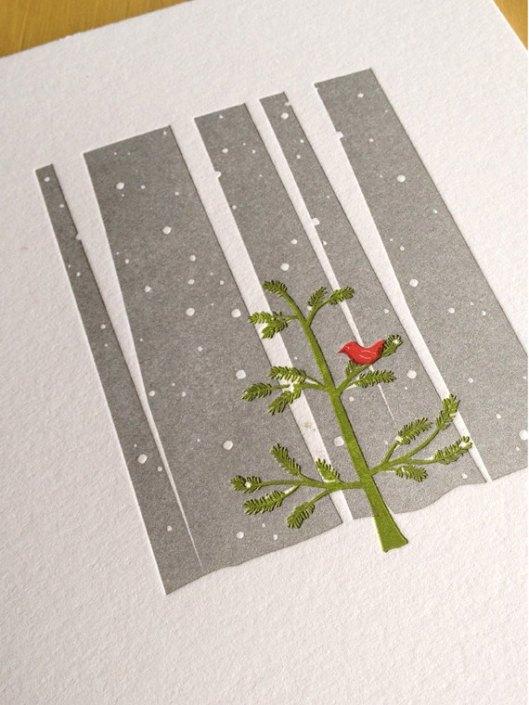 Little Trees Studio - Little Red Bird, $4.50