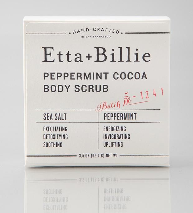 Etta + Billie Exfoliating Bar, $10