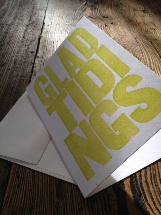 Pineapple Press - Glad Tidings set of 4, $7.50
