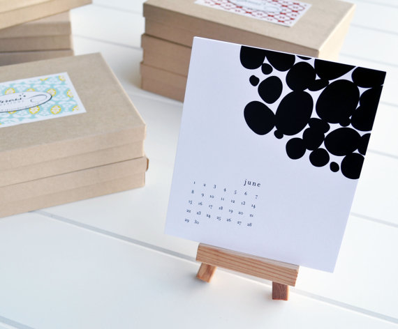 J Press Designs - Desk Calendar, $15
