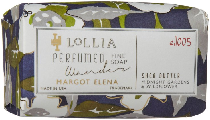 Lollia Wander Soap. $10