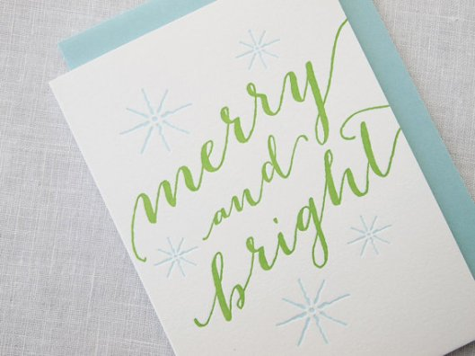 Missive - Merry and Bright set of 8, $24