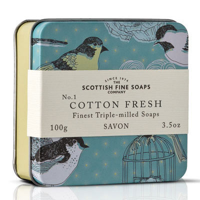 Scottish Fine Soaps Cotton Fresh, £4.96