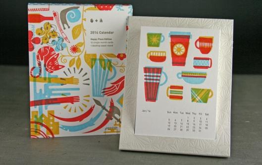Studio on Fire, Minneapolis - Letterpress Calendar, $30