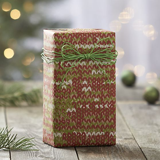 Crate and Barrel - Sweater Gift Wrap, $5.96
