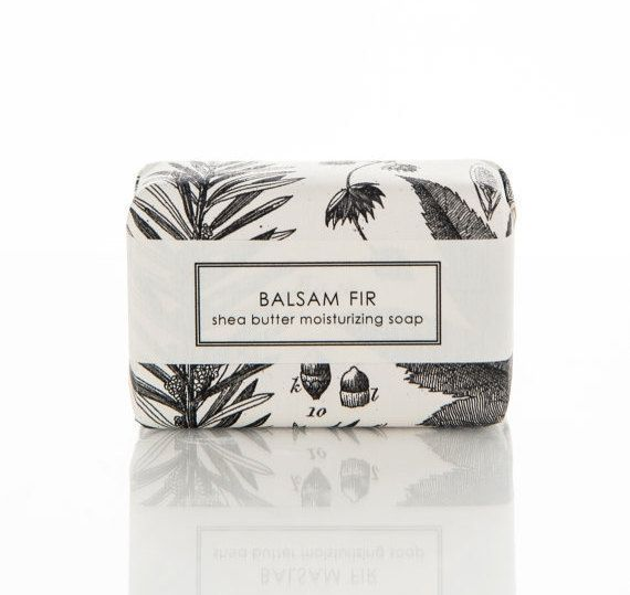 Sweet Petula - Shea Butter Balsam Fir Soap, $9
