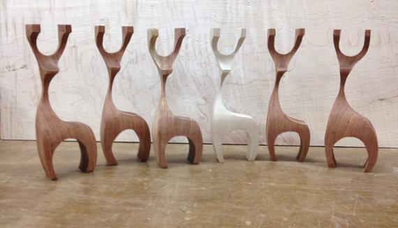 wood reindeer