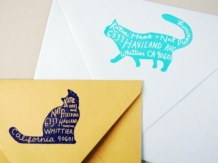 Custom Pet Return Address Stamp, $70