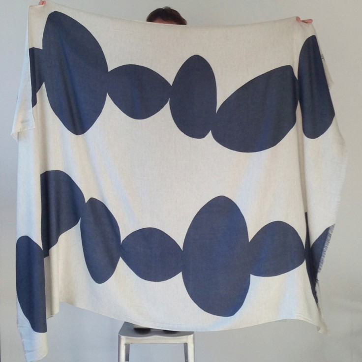 Handwoven Silk Throw, $495