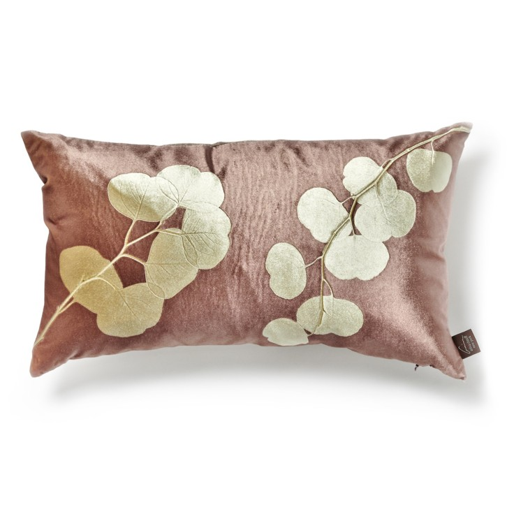 Aviva Stanoff Fig Eucalyptus Pillow, $149
