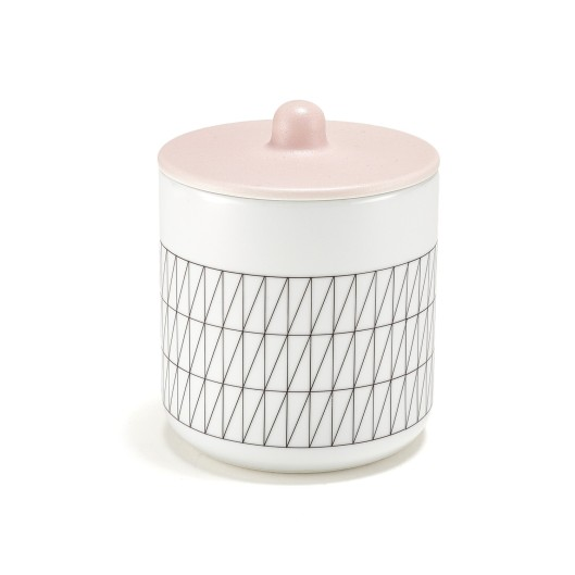 Thomas Eyck Pink Grid Container, $195