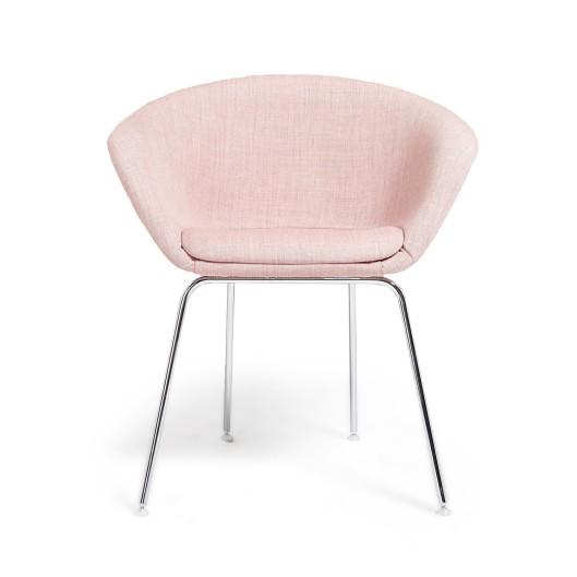Arper Pale Pink Duna Lounge Chair, $982