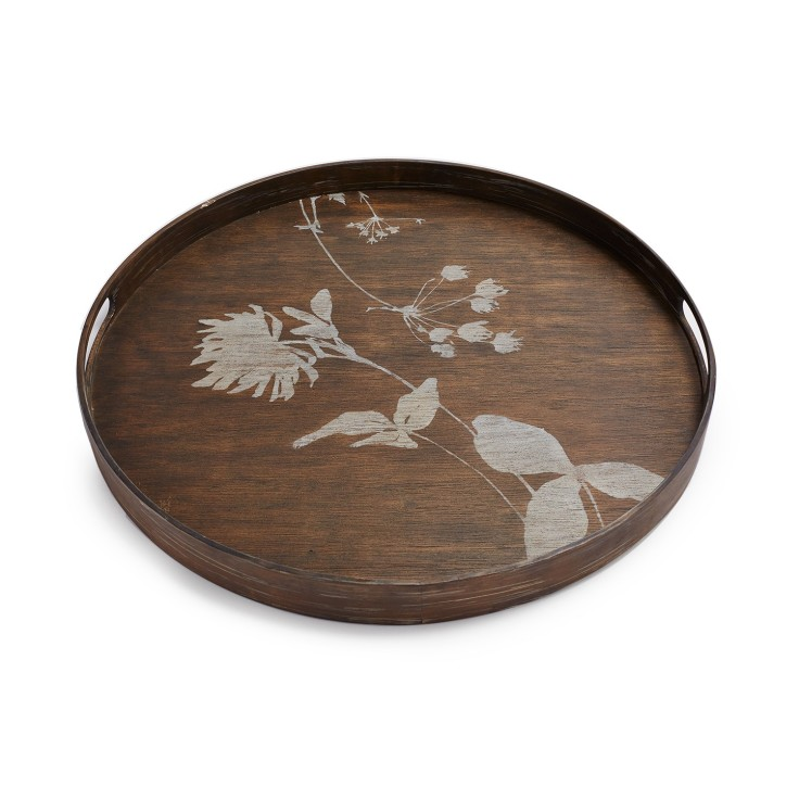 Reflect Thistle Tray, $95