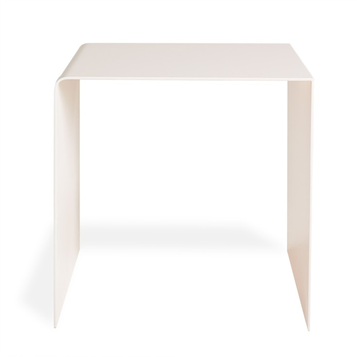abcDNA Fluid Petal Pink Side Table, $695