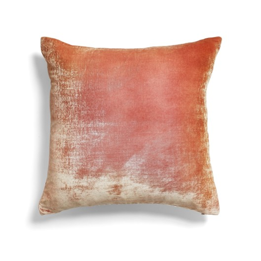 Kevin O'Brien Pink Gold Ombre Velvet Pillow, $273