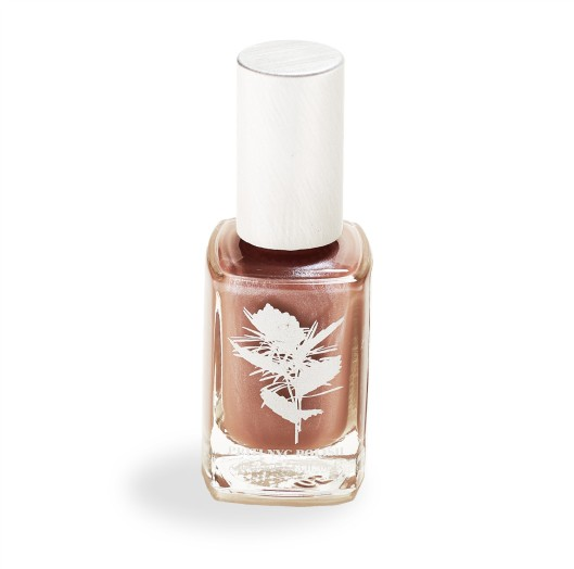 Priti NYC Paper Birch Nail Polish, $14. Locally made; free of formaldehydes and other toxic carcinogens.