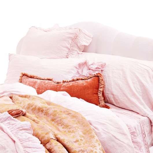 Bella Notte Petal Whisper Linens, $110 and up