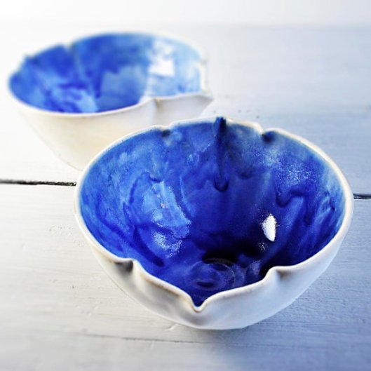 Serving and Prep Bowl in cobalt, $17