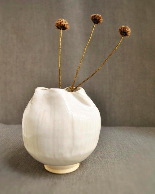 Organic Folded Flower Vase