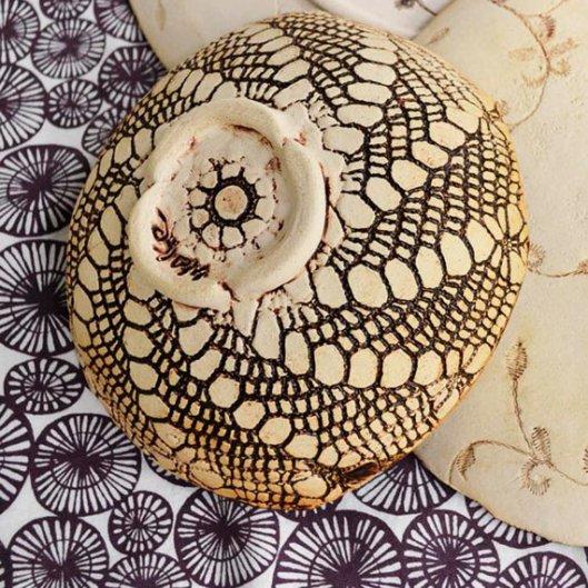 (detail of bowl underside)