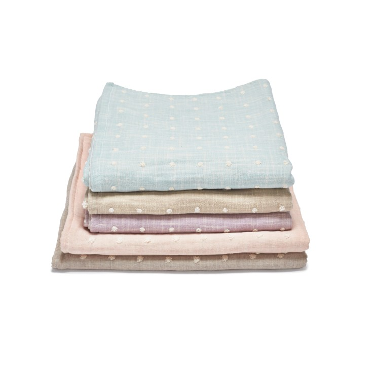 Gauze Dot Towels, from $18