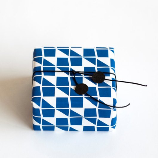 Blue Ribbon Gift Wrap, $6.02/3 sheets