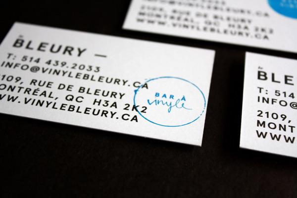 Le Bleury Biz Card