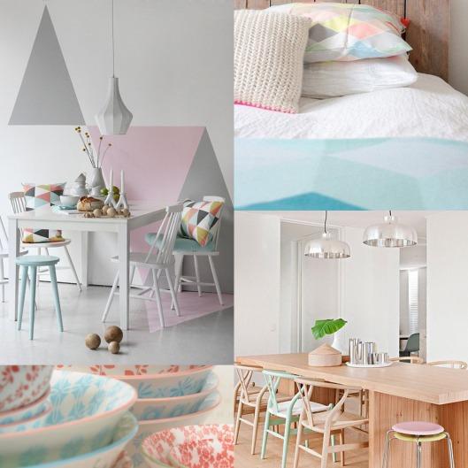 Modern Pastels Blue Bergitt
