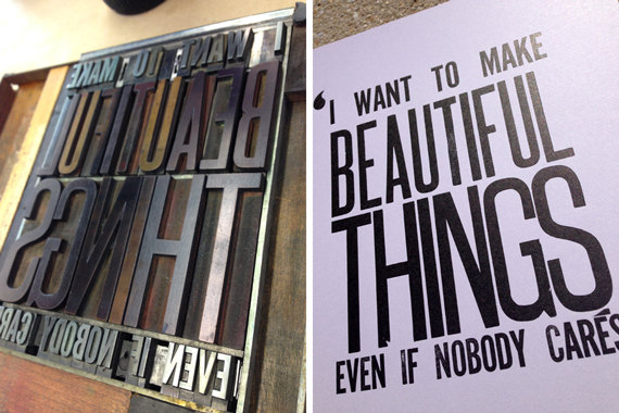 Saul Bass Quote Beautiful Things