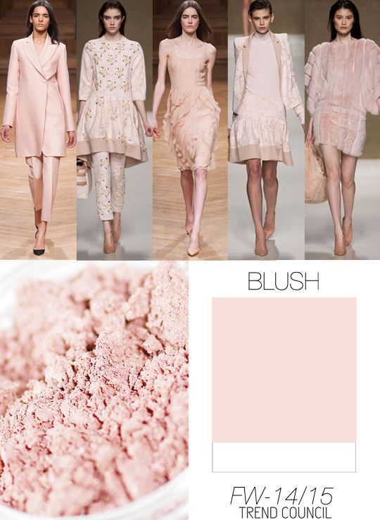 Trend Council FW1415_Color Blush