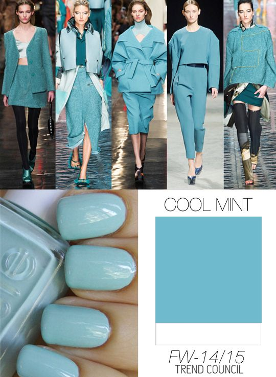 Trend Council FW1415_Color Cool Mint