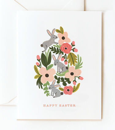 Rifle Paper Co - Floral Egg, $4.50