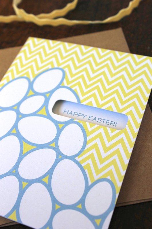 Modern Printed Matter - Easter Chevron, $4