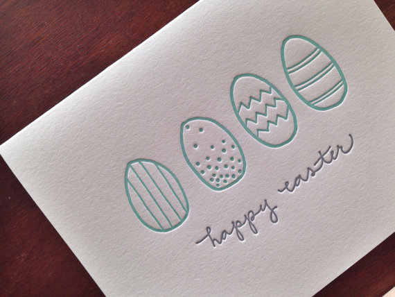 Ink Meets Paper - Easter Eggs, $5