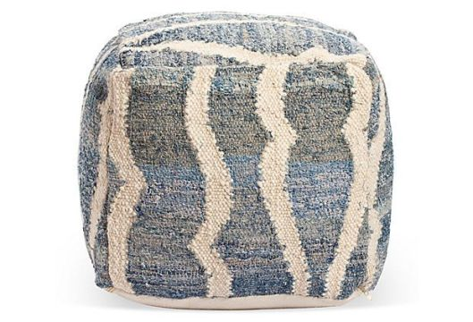 Shelly Kilim Pouf, $129