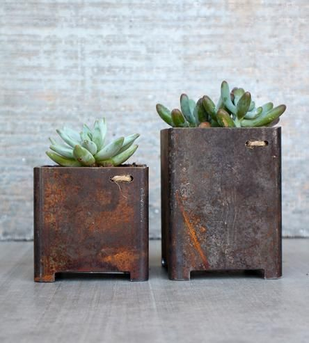 Shoppe - Set of 2 Garden Planters, $65