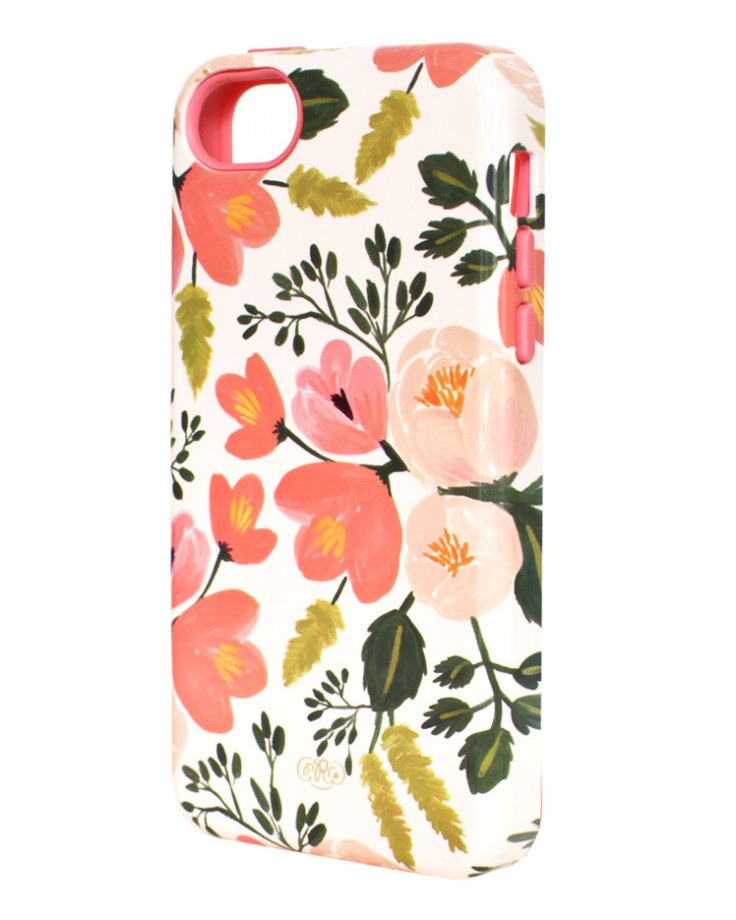 Rifle Paper - Botanical Rose iPhone Case, $25