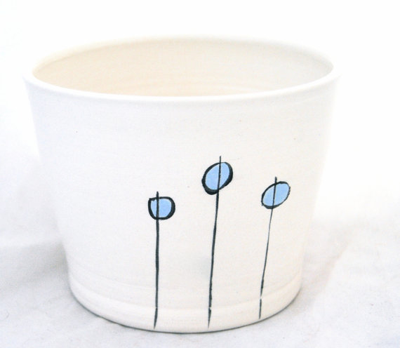 Muddy Pots - 3 Blue Pods Planter, $35