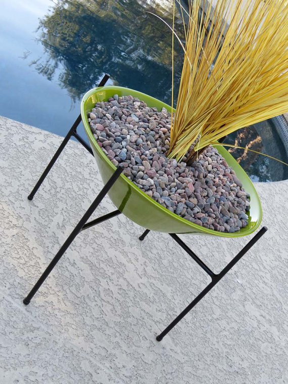 Atomic Martini - Large Green Planter, $240